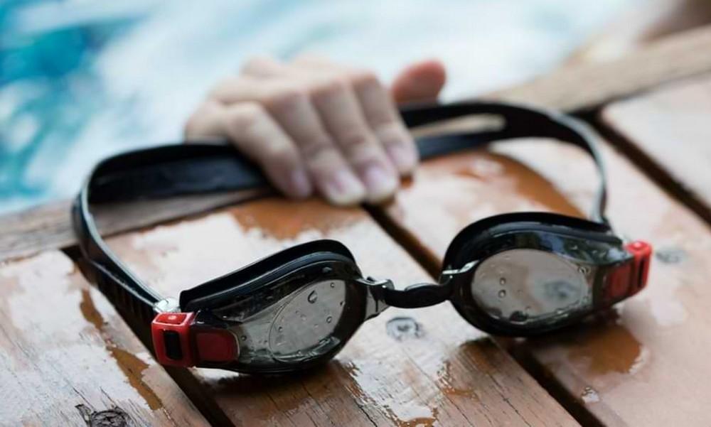 Zoom sur les lunettes de natation